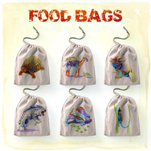 Evolution Food Bags - 6 bags (North Star Games)