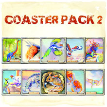 Evolution Coaster Pack #2 - 10 coasters (North Star Games)