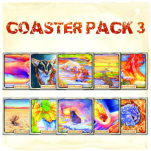 Evolution Coaster Pack #3 - 10 coasters (North Star Games)