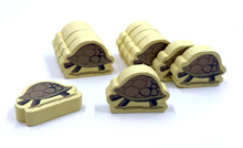 12-Piece Set of Packturtles for Near and Far