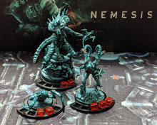 3D Printed Intruder Bases for Nemesis (set of 14)