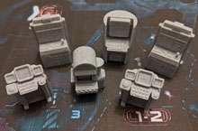3D Printed Computers for Nemesis (set of 6)