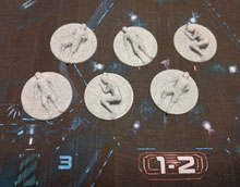 3D Printed Dead Body Tokens for Nemesis (set of 6)