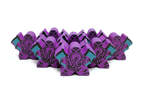 Purple Cthulhu - Character Meeple