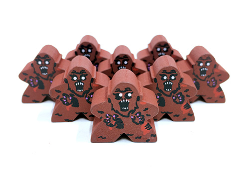 Zombie Bigfoot - Character Meeple