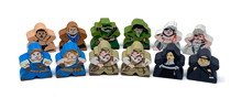 Robinson Crusoe Character Meeple Set (12-Pieces) - SEE NOTES ABOUT CHARACTERS