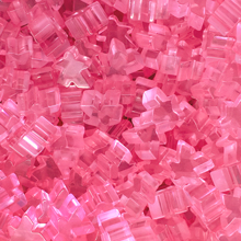 """Pink"" (Translucent) Acrylic Meeples (16mm) - April 2018 Print Run"
