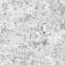 """White"" (Translucent) Acrylic Mini Meeples (12mm) - April 2018 Print Run"
