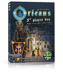 Orleans: 5th Player Expansion (Tasty Minstrel Games)