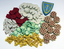 Orleans Resource Upgrade Kit (111 pcs)
