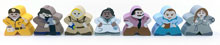 7-Piece Character Meeple Set (Compatible with Pandemic The Cure)