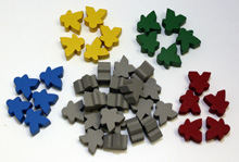 Planes Mini Meeple Upgrade Kit (40 pcs)