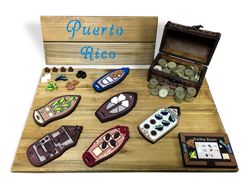 Puerto Rico Deluxe Upgrade Kit