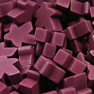 Purple Super Mega Meeples (24mm)