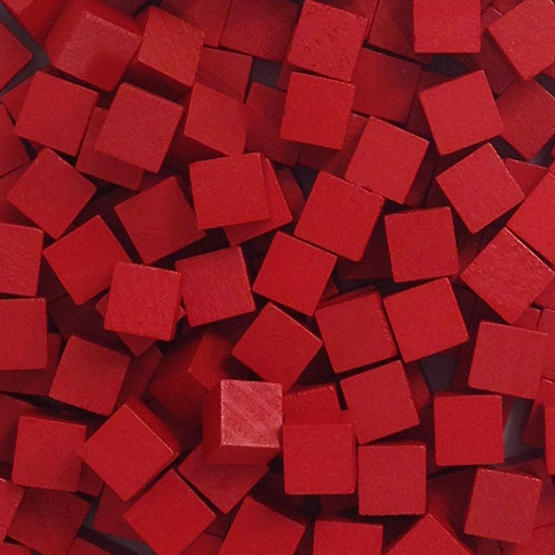 Meeplesource Com Red Wooden Cubes