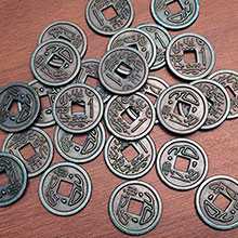 PRE-ORDER: Scythe Promo #16 -25  Metal $1 Coins (Stonemaier Games) - estimated ship date late March 2018