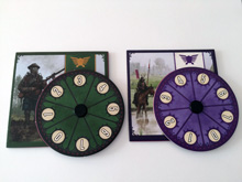 PRE-ORDER: Scythe Promo #8 - 2 Promo Power Dials (Stonemaier Games) - Est. shipping date May 2017