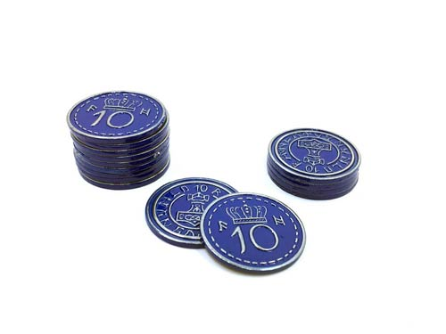 what is a blue coin