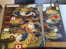 PRE-ORDER: Scythe Kickstarter Game Board Extension (Stonemaier Games) - Est. shipping date May 2017