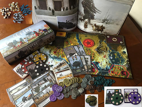 Scythe Easy Bundle #1 - Scythe Promo Items, Accessories, and Expansions (Stonemaier Games)