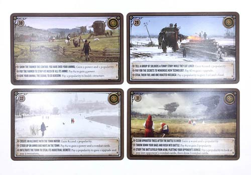 Scythe Kickstarter Promo Pack #1 -  4 Promo Encounter Cards (Stonemaier Games)