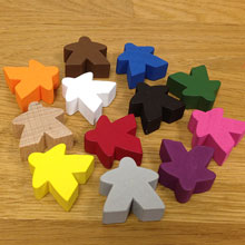 Set of 12 Super Mega Meeples (24mm)