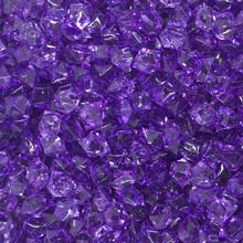 Dark Purple Acrylic Gems (Small)