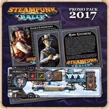 Steampunk Rally 2017 Promo Pack (Roxley Game Laboratory)