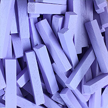 Lavender Wooden Sticks (4x4x25mm)