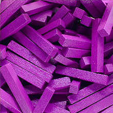 Purple Wooden Sticks (4x4x25mm)