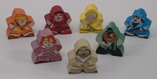 Stuff & Nonsense Character Meeples (7-Piece Set)