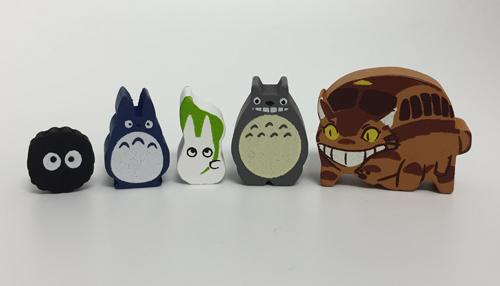 Totoro Meeples (Mixed Set)