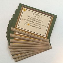 Tuscany Special Worker Promo Cards - 9 Promo Cards (Stonemaier Games)
