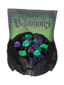 3D Printed Cauldron for Villainous with 80 gems (81 piece set)