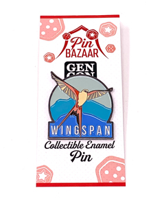 Wingspan Lapel Pin (Gen Con Pin Bazaar 2019 Collectible Pin)