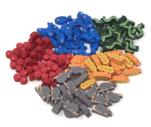 Meeplesource Com Wingspan Upgrade Kit 105 Pcs