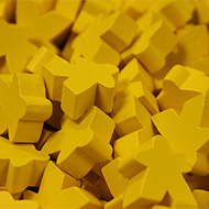 Yellow Super Mega Meeples (24mm)