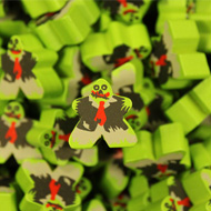 Zombie Mega Meeples (19mm)